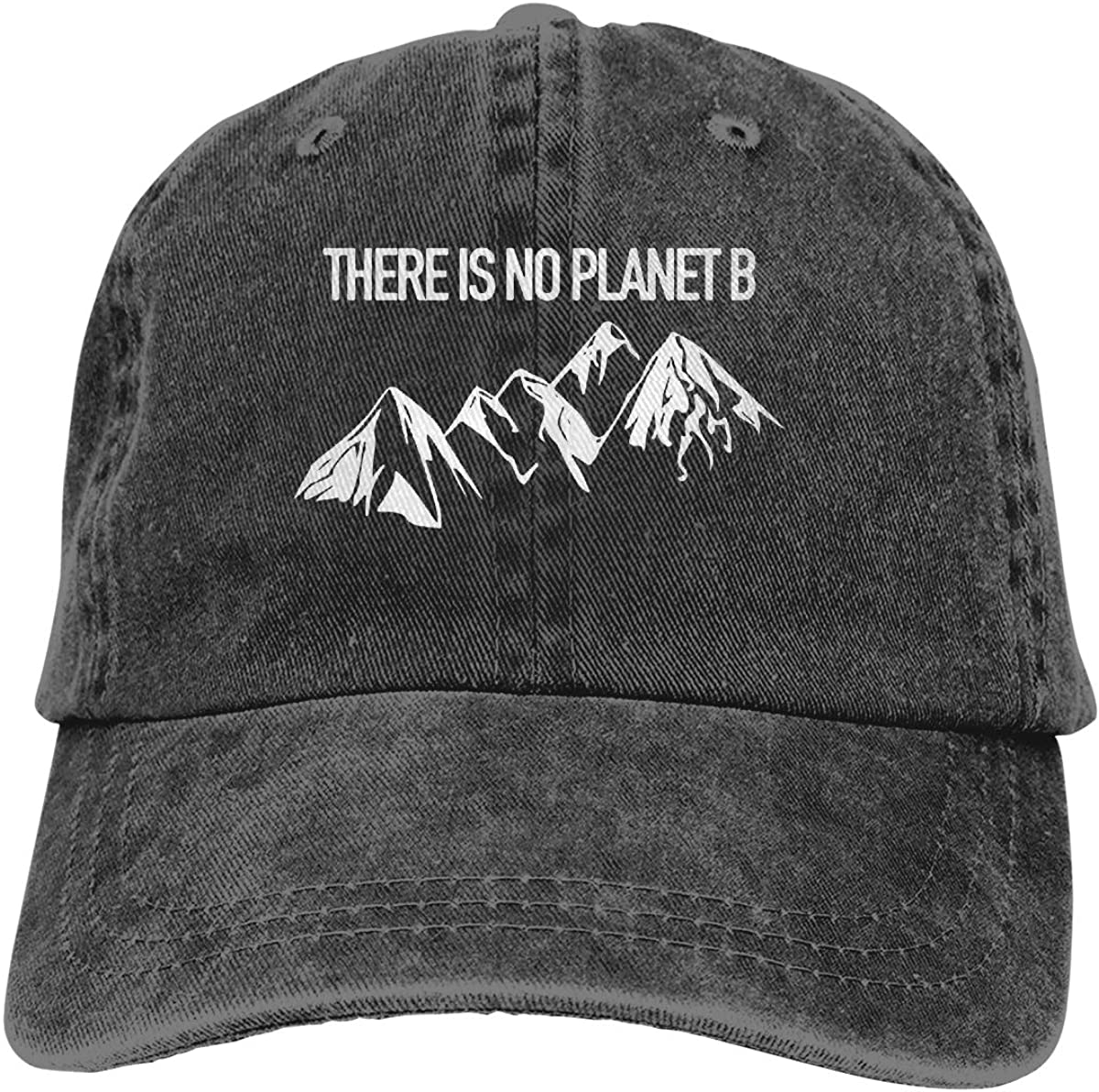 No Plan B Adult Custom Jeans Hip Hop Cap Adjustable Baseball Cap