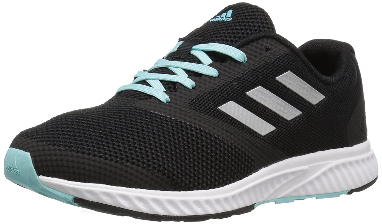 adidas Women's Edge Rc W Running Shoe B01LP5JGEE 6 B(M) US|Black/Metallic Silver/Claqua
