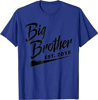 Amazon.com: Big Brother Est. 2018, Birthday Baby ...