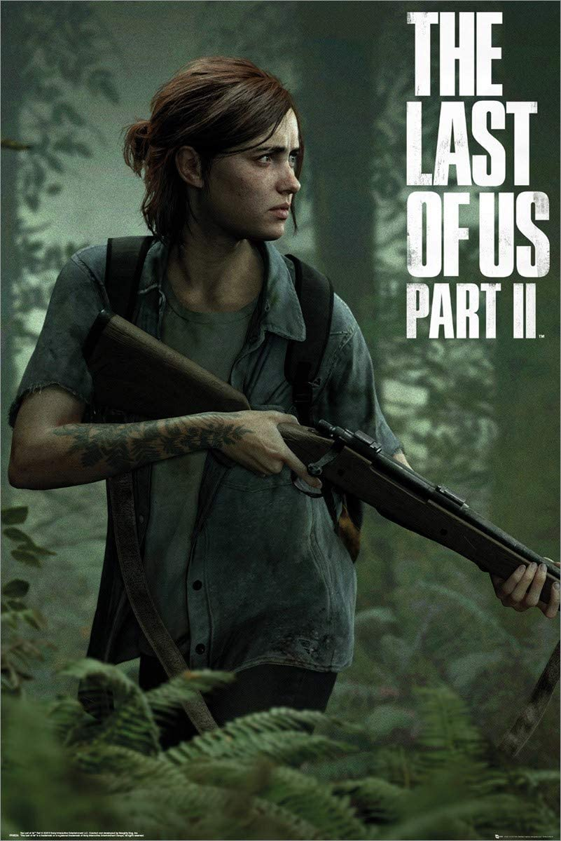 The Last Of Us 2 Maxi Poster Ellie 61 x 91,5 cm Laminato