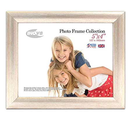 Inov8 British Made Traditional Picture/Photo Frame, 5x4-inch, Value ...