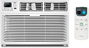 TCL Energy Star 6,000 BTU 115V Window-Mounted Remote Control, TWC-06CR/UH Air Conditioner, 6000, White