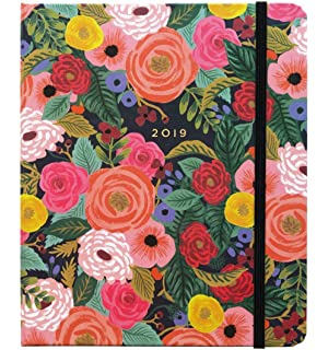 Amazon.com : Rifle Paper Rose Hard Covered 12 Month Agenda ...
