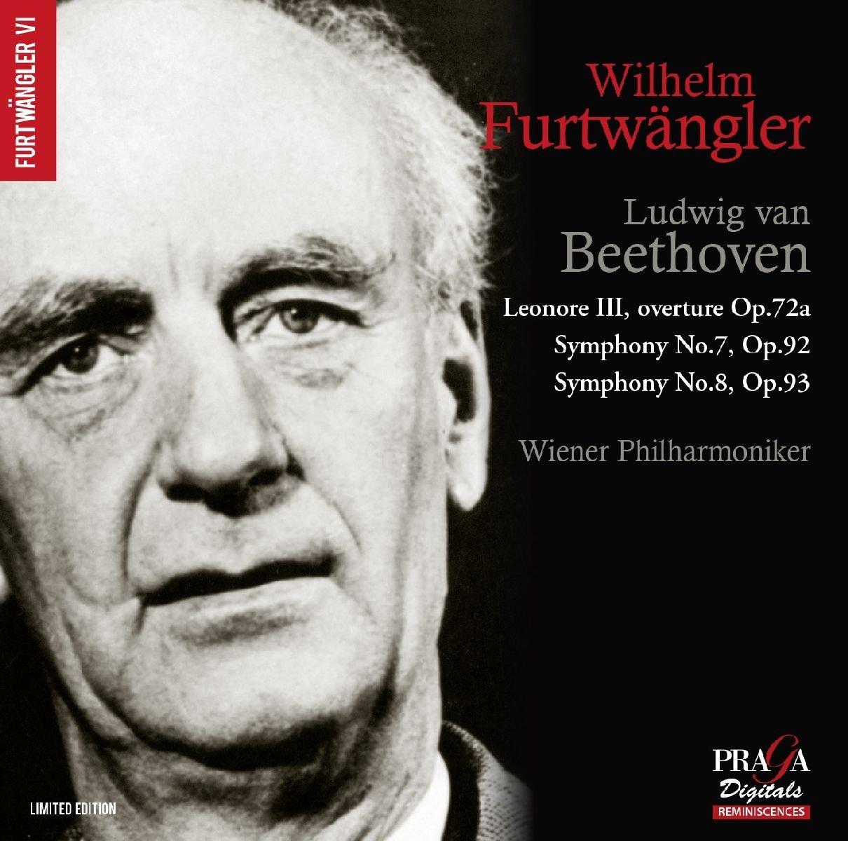 Beethoven: Symphonies Nos 7 & 8, Leonore Overture No 3