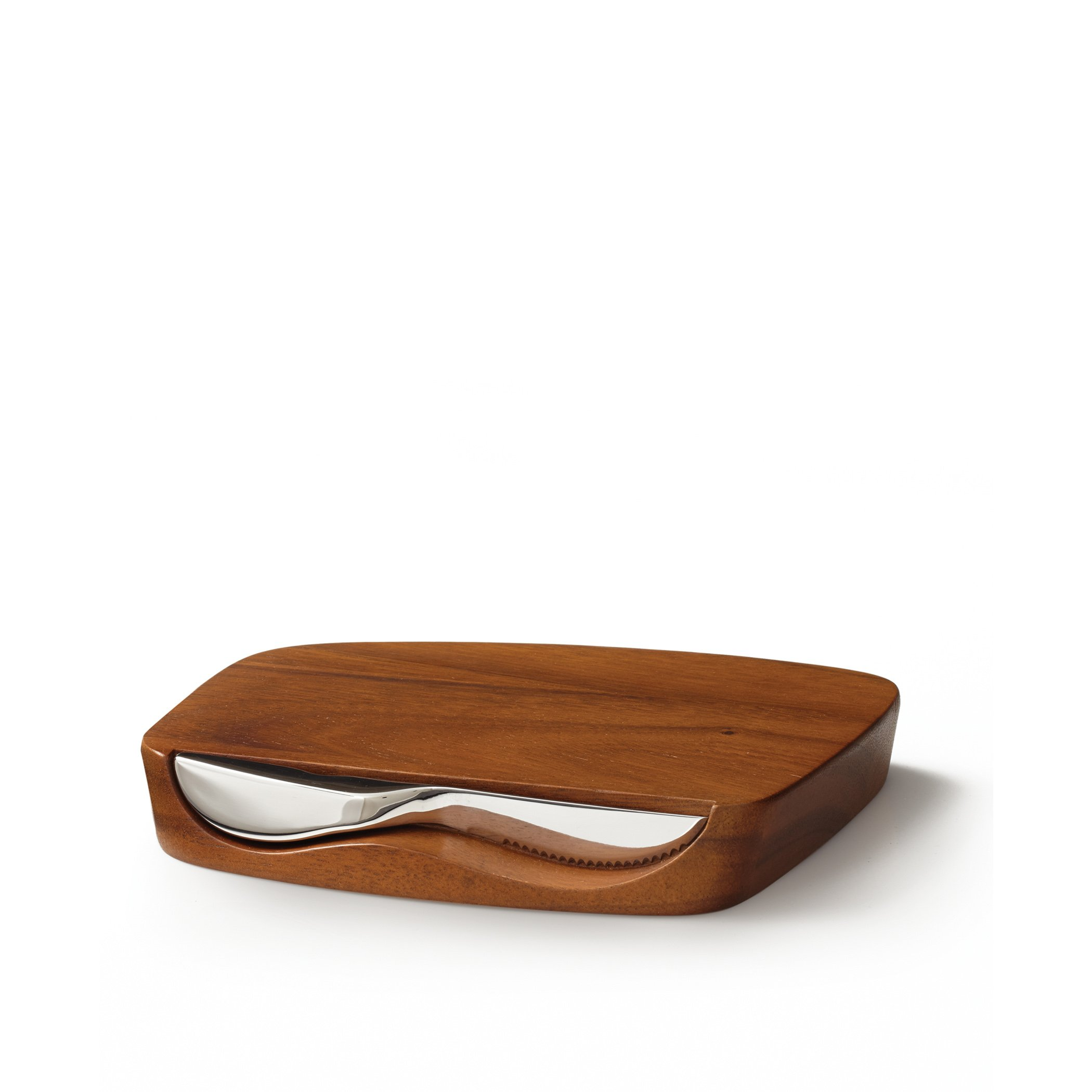Nambè Blend Bar Board with Knife by Nambé