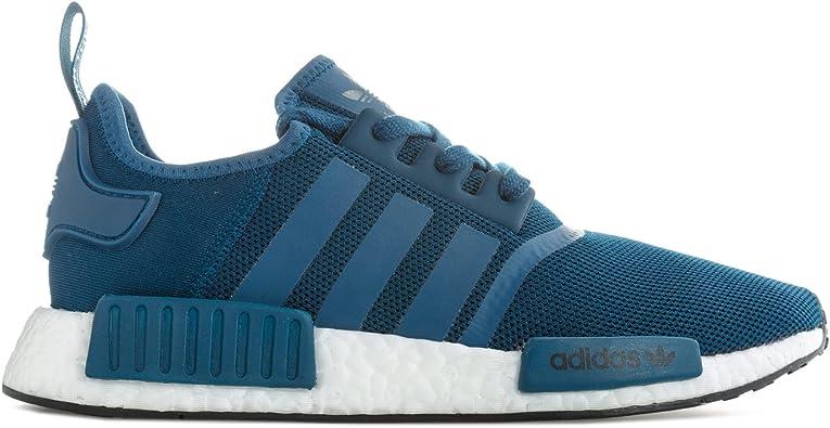 adidas femme chaussures rayures bleu