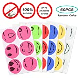 Goglor Mosquito Patch, 60Pcs Natural Non Toxic Mosquito Repellent Patches Stickers, Insect Repelling Stickers for Kids Adults
