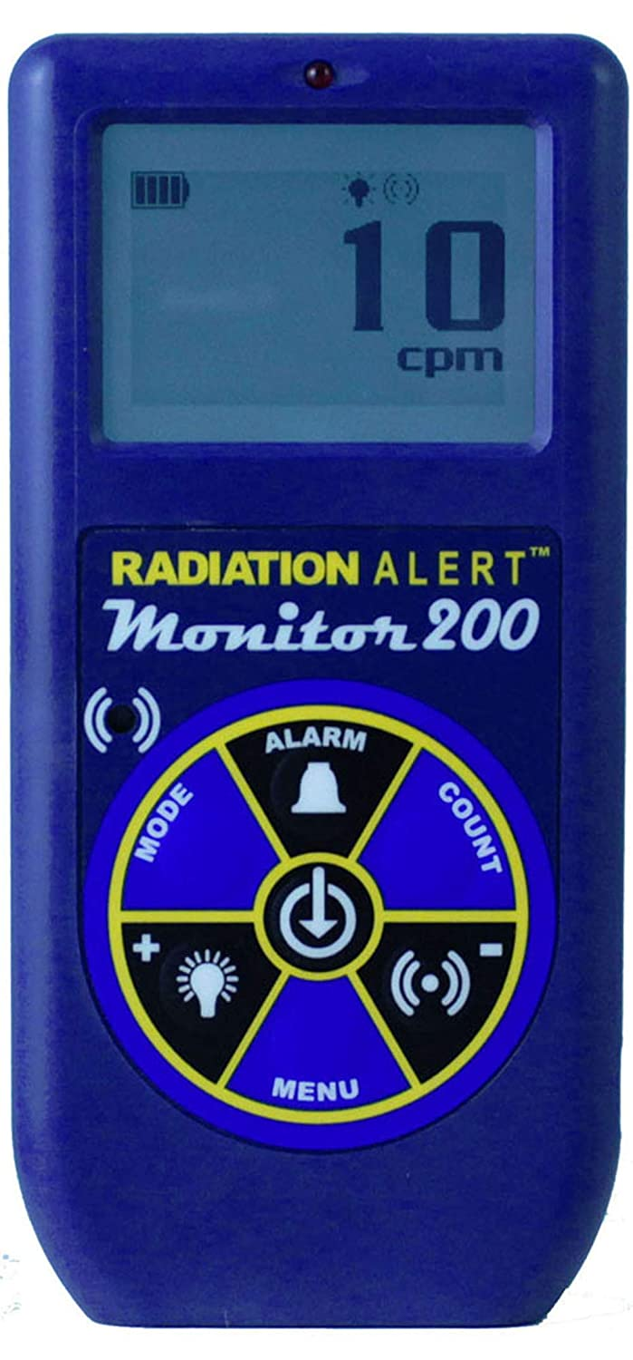 Radiation Alert Monitor200 Radiation Detector, for Alpha ...