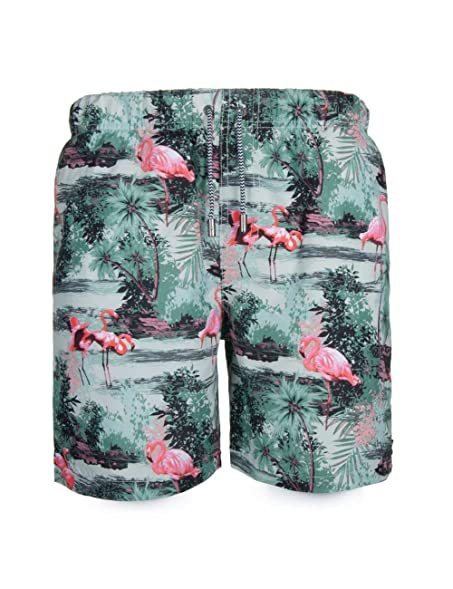 051f256b5e SURFCUZ Men's Pineapple Swim Trunks - Quick Dry Swim Trunks For Swim or  Beach