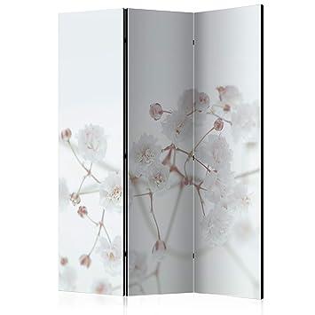 Deko Paravent Raumteiler Trennwand Blumen Spanische Wand 2 Formate b-B-0321