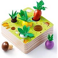 Babyhelen Juguetes Montessori, Juguetes de Madera Niños Juego de Clasificación Rompecabezas Juguetes Educativos Regalo…