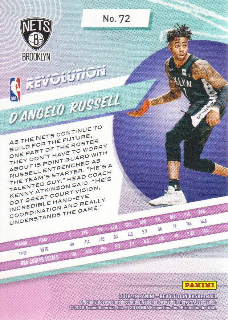 2018-19 Panini Revolution Basketball #72 DAngelo Russell ...