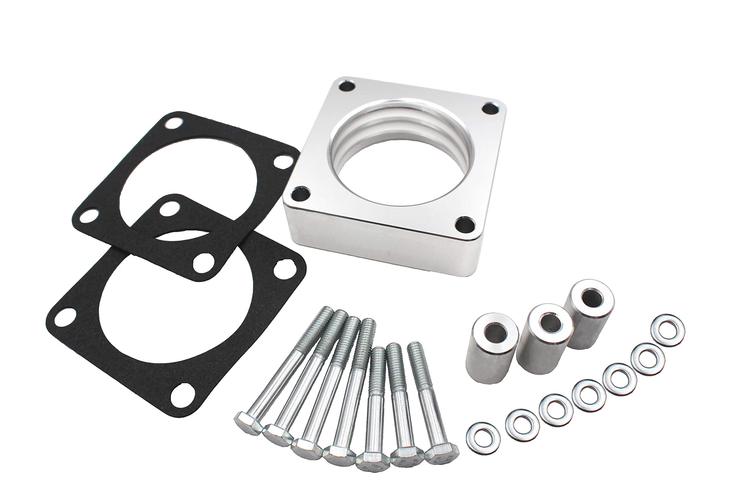 1068 Throttle Body Spacer Only for Select Years: Jeep XJ, Comanche MJ WJ, Grand Cherokee ZJ, Wrangler TJ 4WD,fits models with 4.0L/ 2.5L engines only fits 4-bolt throttle Bodies.