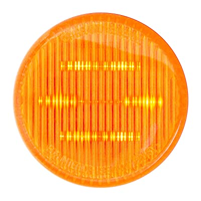 "GG Grand General 75980 Amber/Amber 2"" Sealed Light (2"" 6 LED, High/Low, 3 Wires): Automotive"