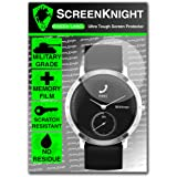 ScreenKnight® Withings Steel HR Screen Protector 40mm - Military Shield - 1 Pack