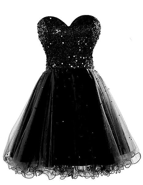 Amazon.com: Sarahbridal SD034 - Vestido corto de fiesta para ...