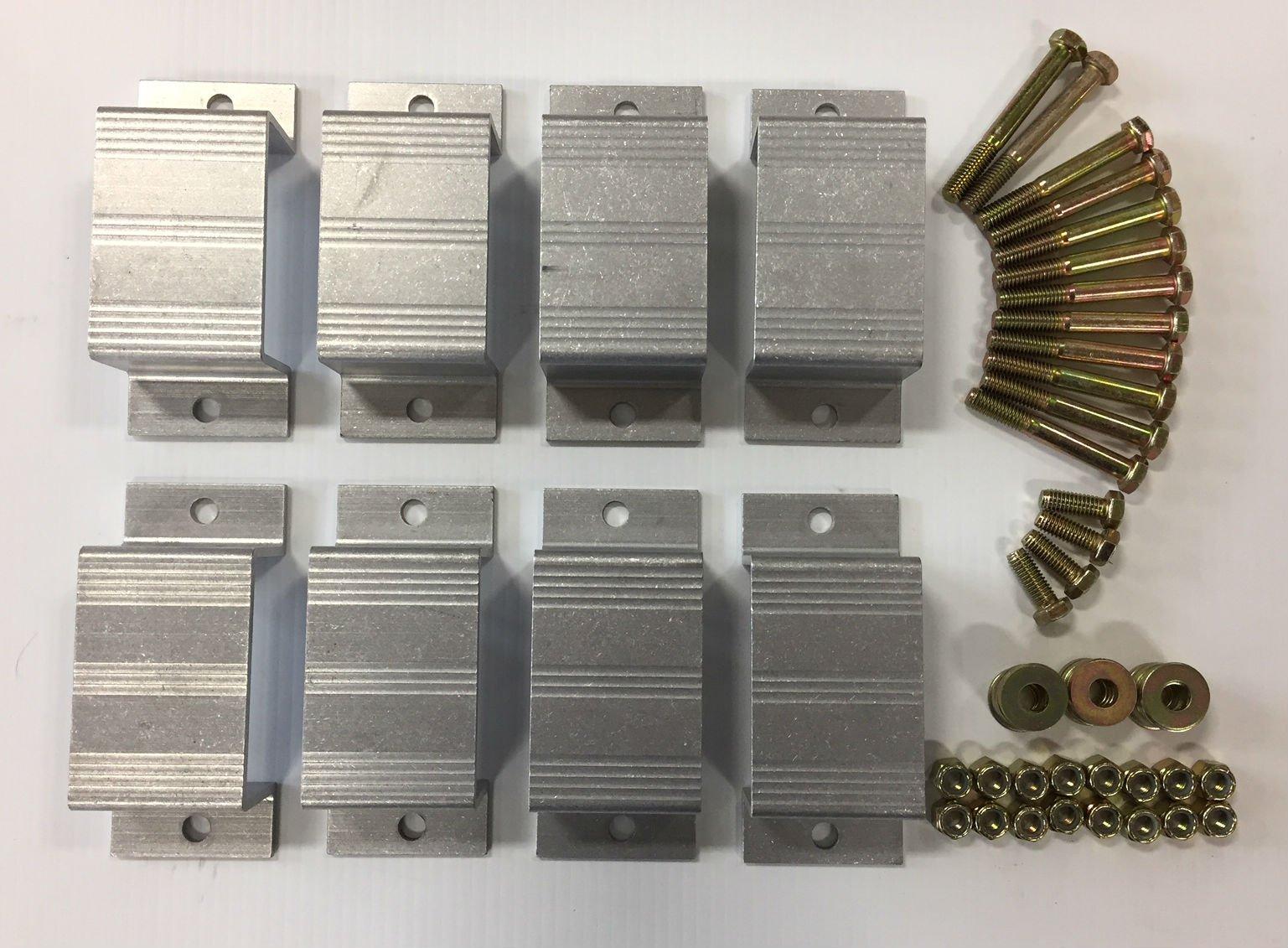 Triton 07110 XTV Trailer Stake Pocket Kit with 8 Pockets