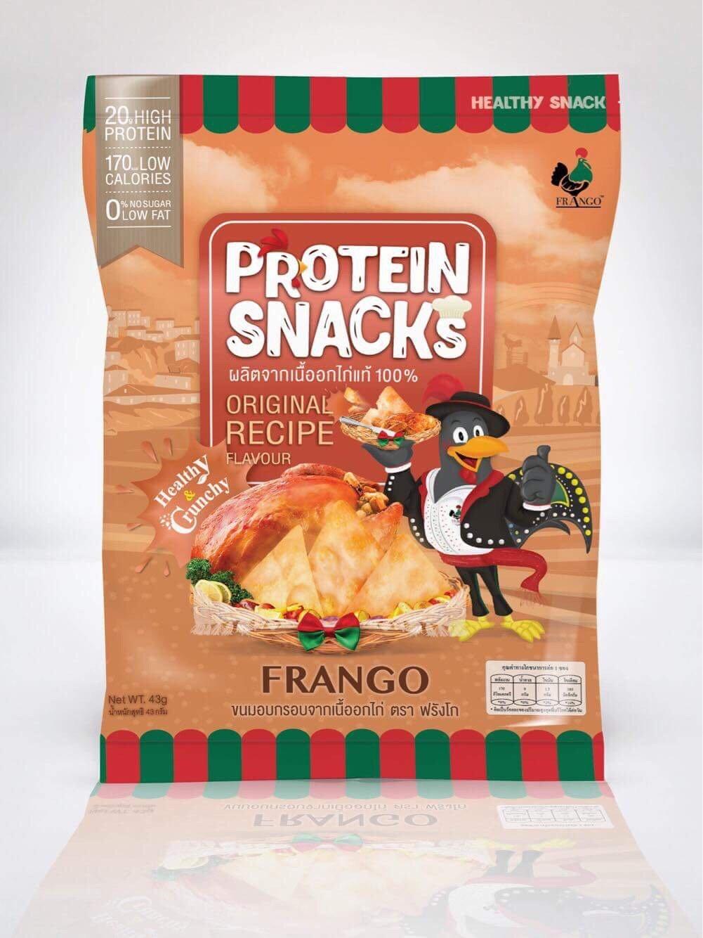 FRANGO プロティンチップス 1袋20グラムタンパク質 鶏むね肉のみ使用 糖質ゼロ おかしなのに痩せて筋肉付く (30) B07B734LD4 30