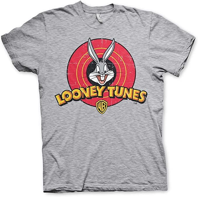 Tee Shack Looney Tunes Bugs Bunny Warner Brothers Officiel T