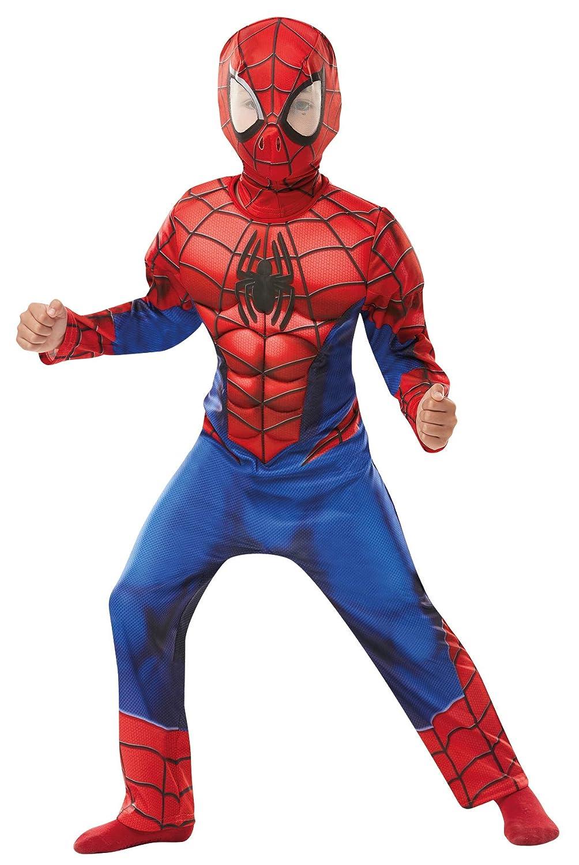 Rubies 640895 SPIDERMAN - Disfraz infantil de Spiderman de Marvel, 140 cm de altura, 9 a 10 años: Amazon.es: Juguetes y juegos