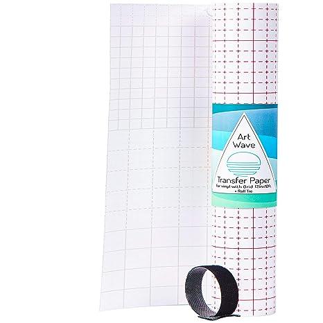 Cinta de transferencia de vinilo de 30,48 cm x 30,48 cm + corbata de