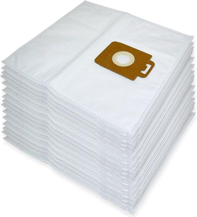 Spares2go gamuza de microfibra bolsas de polvo para Nilfisk Power ...