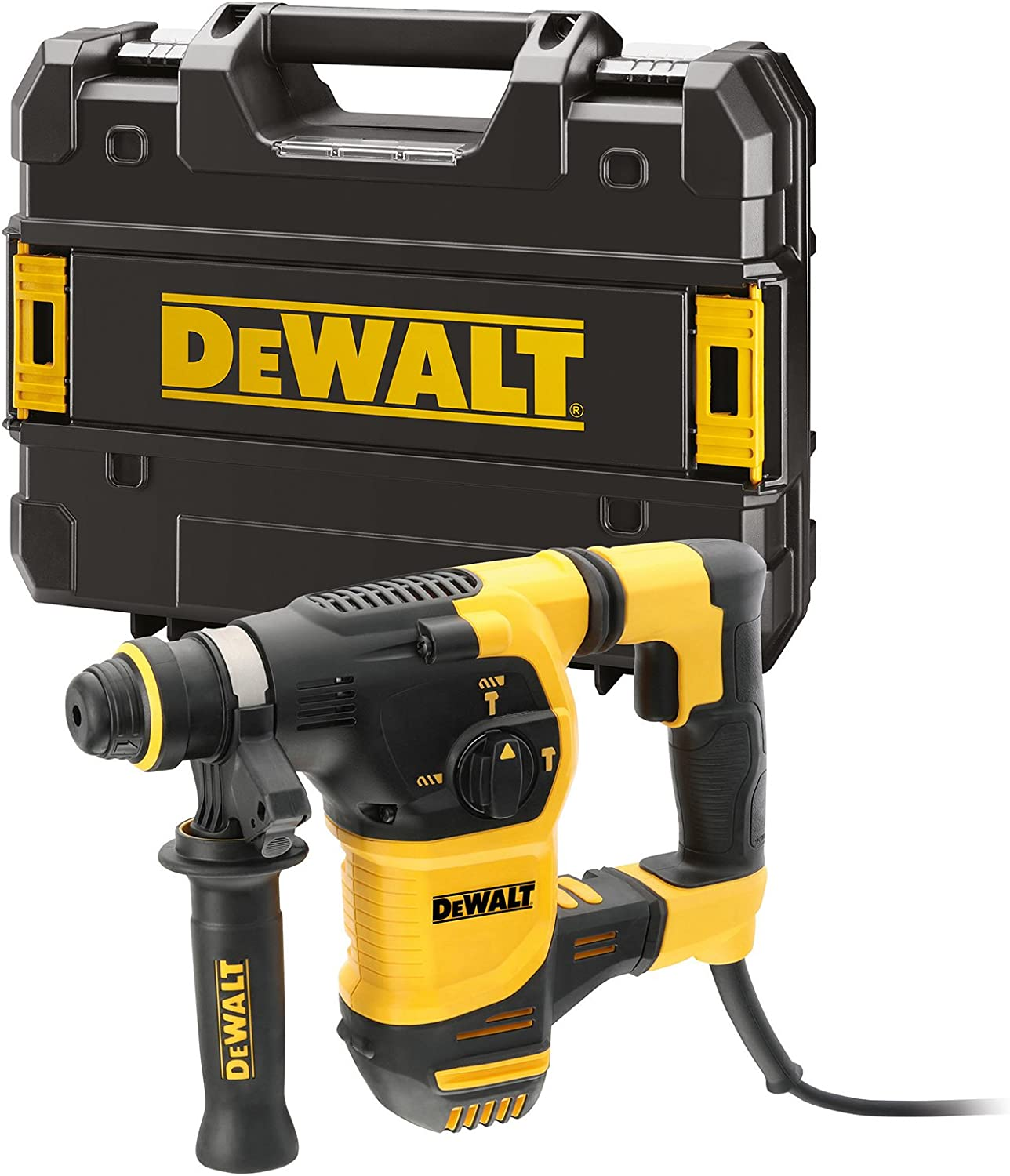 DeWalt D25333K-QS Perforateur burineur SDS-plus 950W - 3.5J - 30mm - 3 Kg - coffret TSTAK