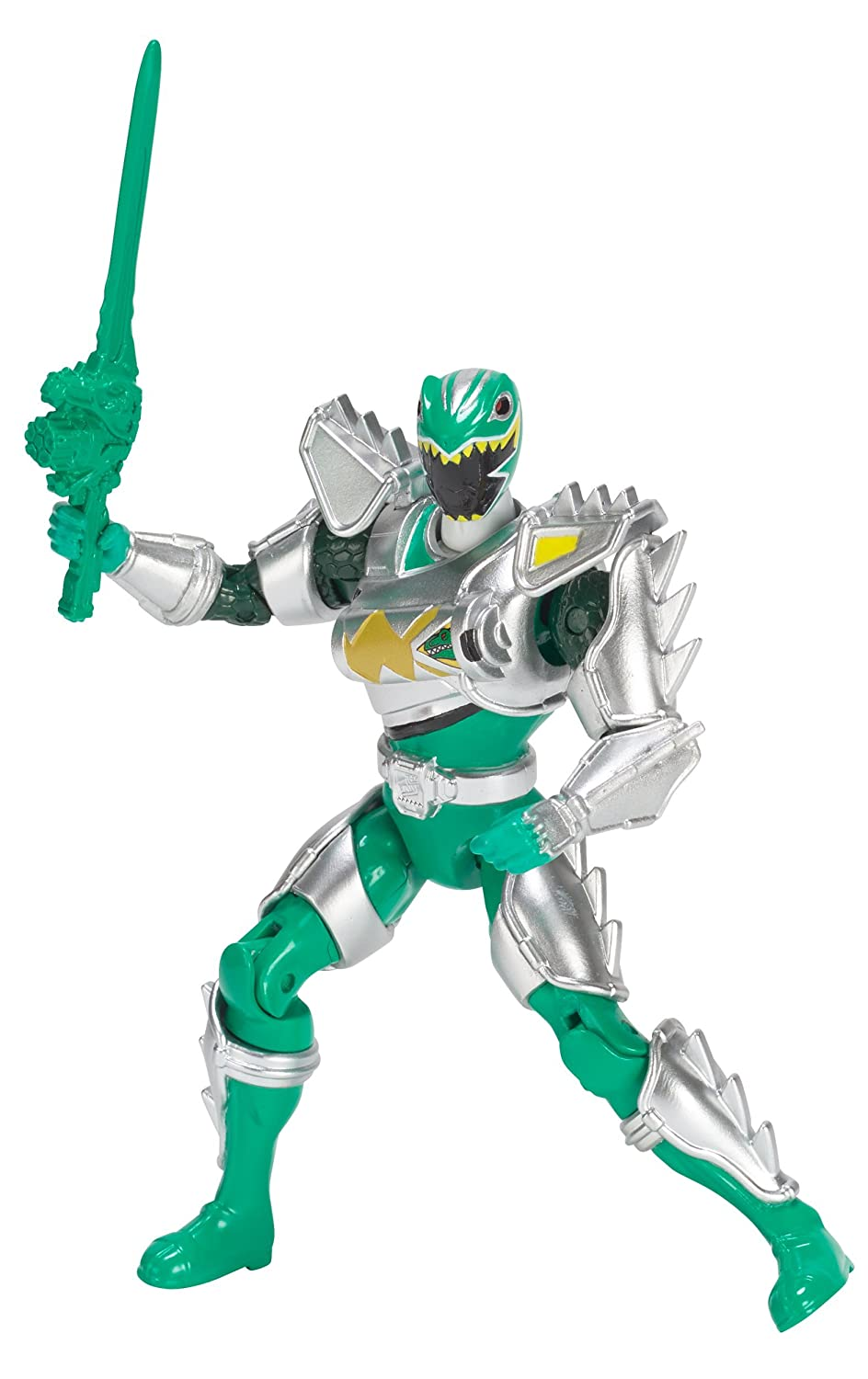 Power Rangers Dino Super Charge Dino Super Drive Green Ranger Action Figure 5 5 Bandai America Incorporated 43300