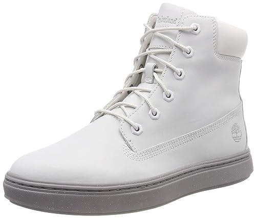 on sale 983db 1ca5d Timberland Damen Londyn Kurzschaft Stiefel, weiß, Taille Unique