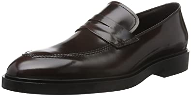 45400, Mocassins Homme, Rouge-Rosso (Bordeaux), 40 EUFratelli Rossetti