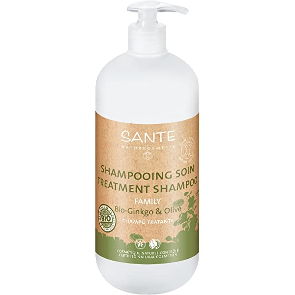Sante Naturkosmetik Champu Tratante Ginkgo-Oliva 950Ml. 950 ml: Amazon.es: Belleza