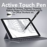 ALLIMITY Active Stylus Digital Pen with 2.4 mm Fine Point Copper Tip Compatible with Tablet and Other Capacitive Touchscreens Devices, Good for Drawing and Handwriting