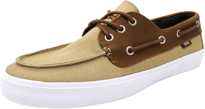 Vans Chauffeur SF (C&L Khaki/Chambray) Mens Skate Shoes (7 D(M) US)