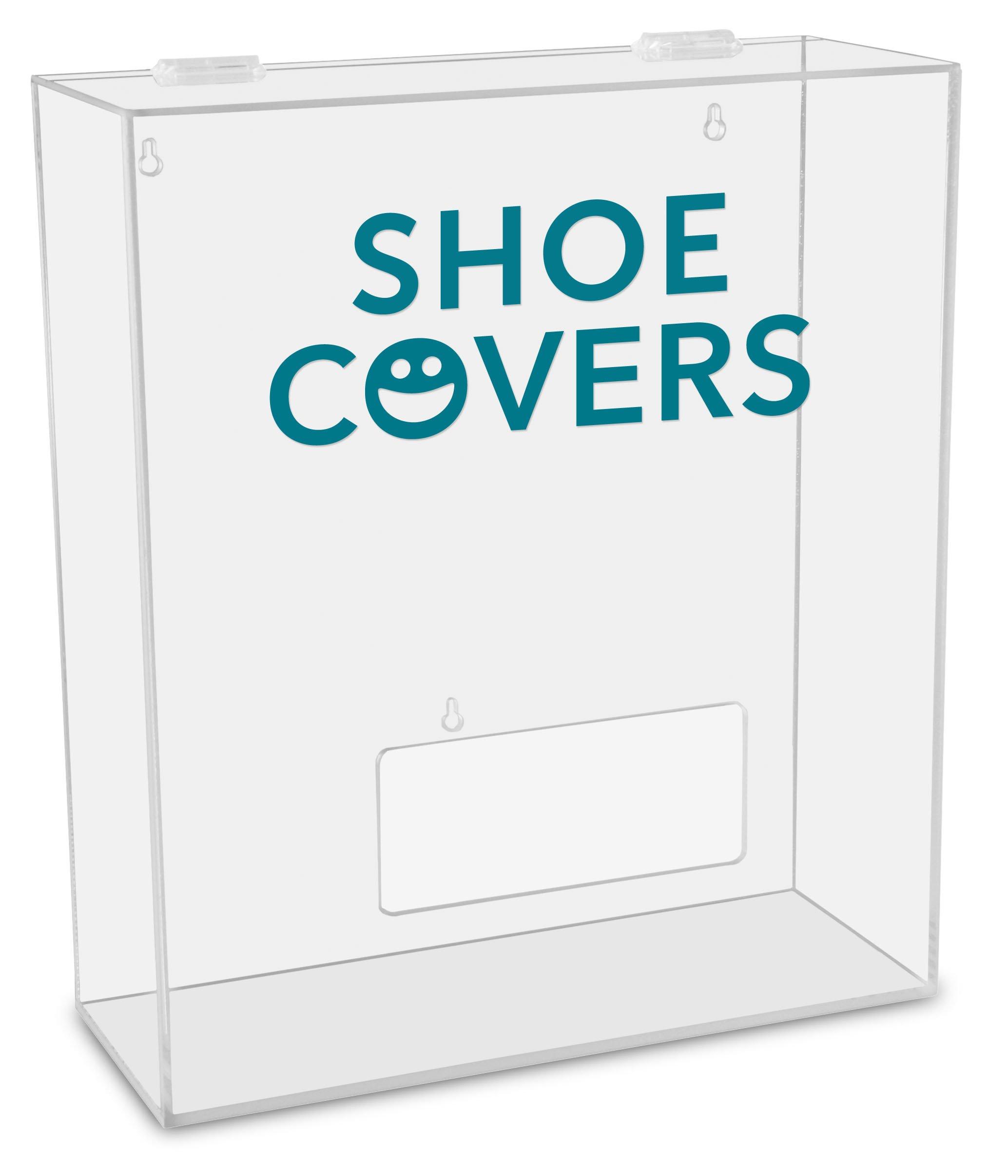 TrippNT 51317 Shoe Covers Labeled Medium Apparel Dispenser, 15'' Width x 18'' Height x 6'' Depth