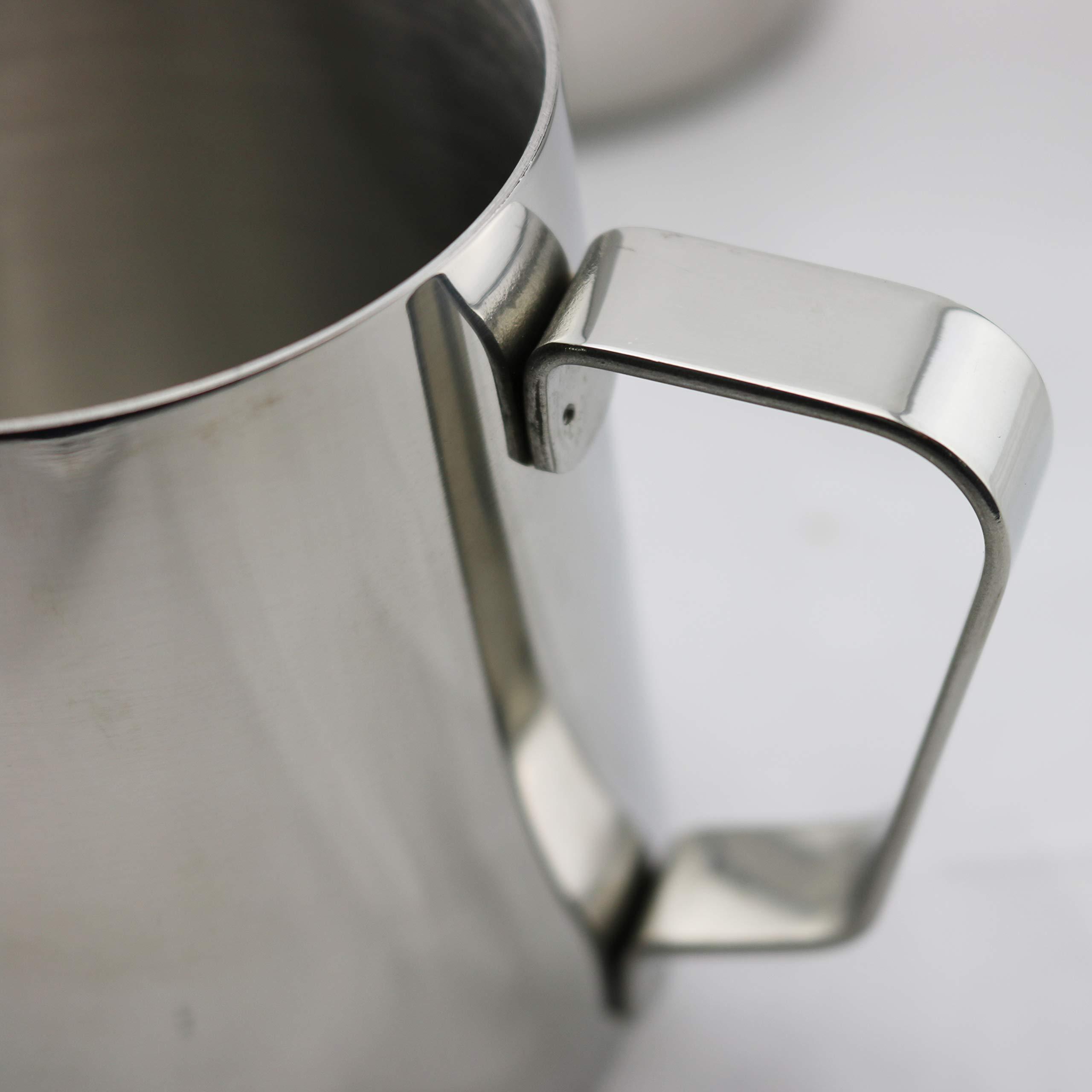Rhino Coffee Gear RHMJ32oz 0799439358034 Milk Pitcher, 32 oz, Silver by Rhino Coffee Gear