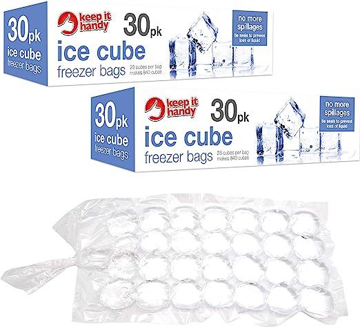 Bolsas para congelar cubitos de hielo de 60 unidades | Puede hacer ...