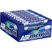 Mentos Air chewy dragees, eucalyptus – menthol smaak - grootverpakking met 40 rollen (38g/14 stuks per rol), verfrist je…