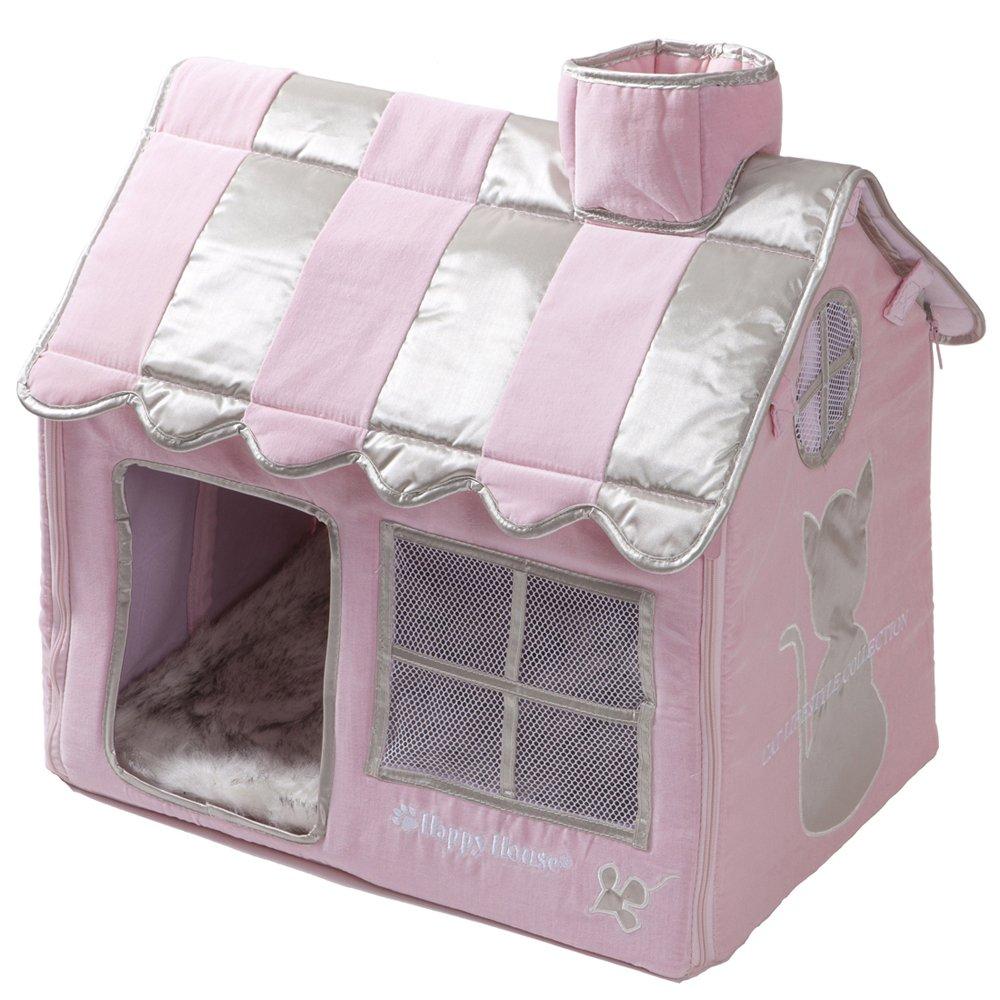 happy-house Katze Lifestyle Villa, klein, pink