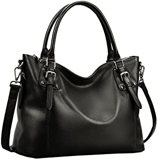 BIG SALE-AINIMOER Women's Large Leather Vintage Shoulder Bags ...