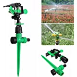KING DO WAY Kit De 3/4 '' Arroseur Rotatif À 360 Degrés Irrigation Par Arrosage Automatique Jardinage DIY Pour Pelouse Jardin Serre Rotating Sprinkler 1pcs