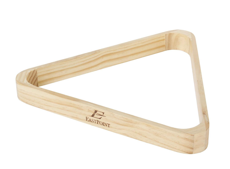 EastPoint Sports Holz Dreieck Billard Rack