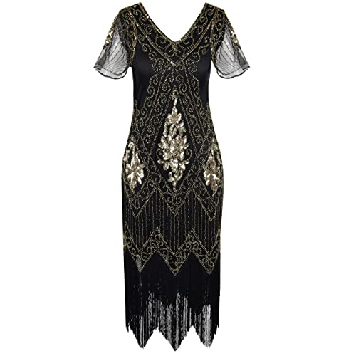 Authentic 1920s Flapper Dresses Cover UPS