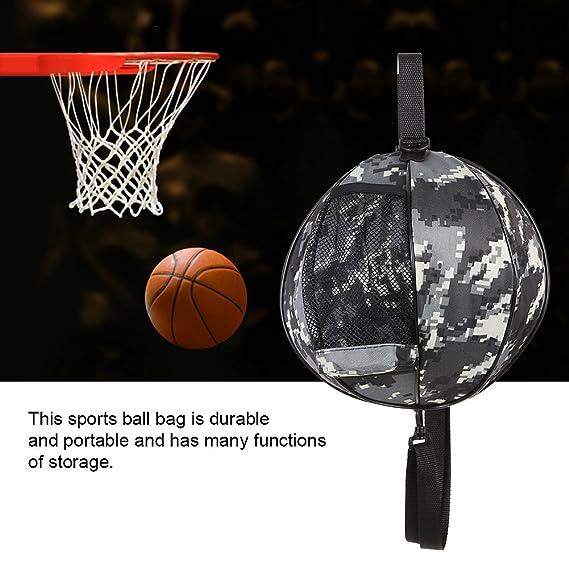Alomejor Bolso de la Bola Deportes portátiles Baloncesto Fútbol Balón de  fútbol Voleibol Bolso para Deportes al Aire Libre(Camouflage)  Amazon.es   Deportes ... 117e9cc98c579