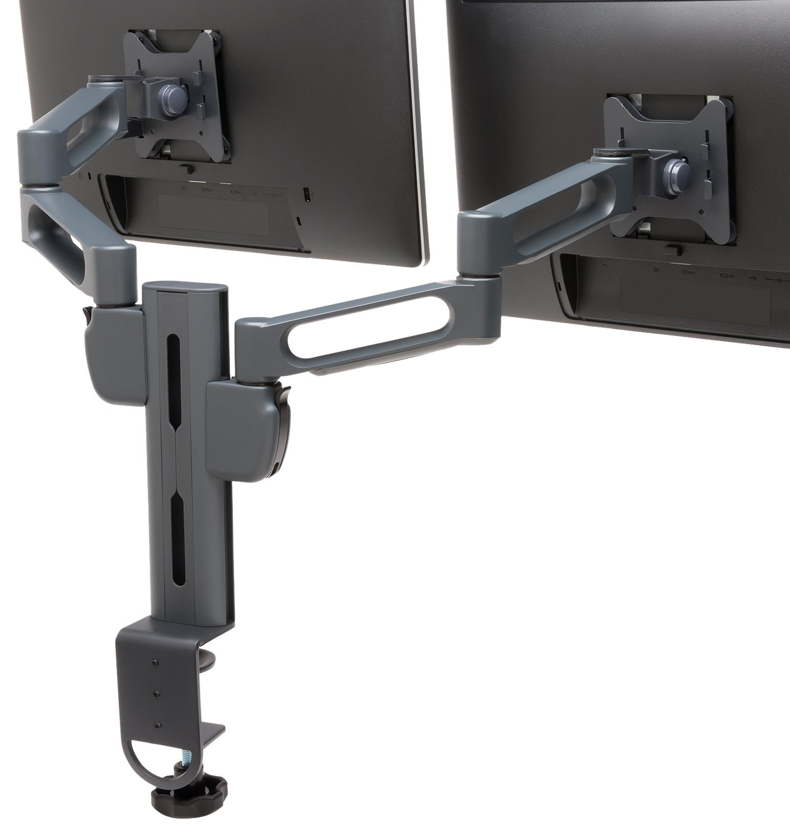 Kensington SmartFit Ergonomic Dual Monitor Pivoting Arm Mount (K60273WW) by Kensington