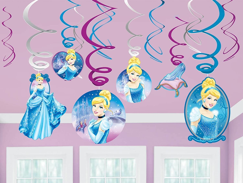 Amazon.com: Disney Cenicienta – Rollo de vinilo calcomanía ...