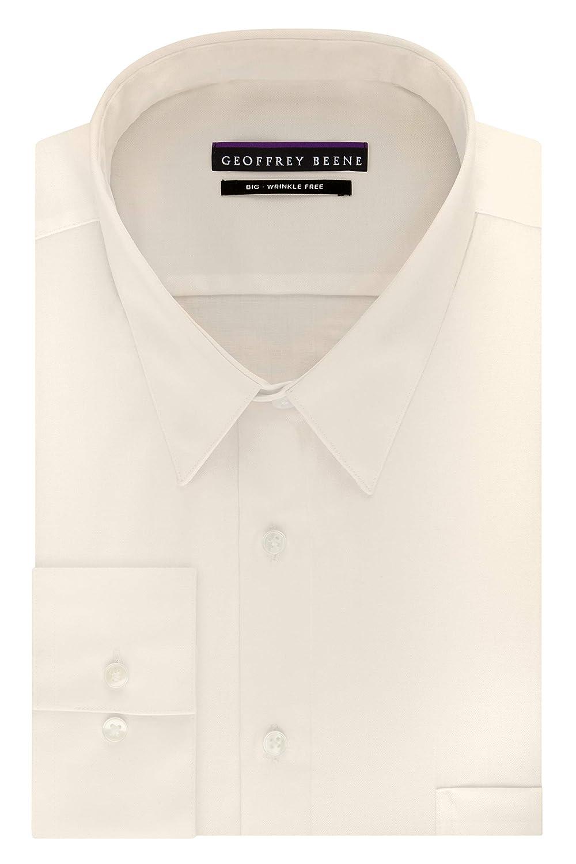 Amazon Geoffrey Beene Mens Dress Shirts Big Fit Solid Point