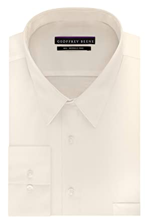 b36e399cde5 Amazon.com  Geoffrey Beene Men s BIG FIT Dress Shirts Sateen Solid ...
