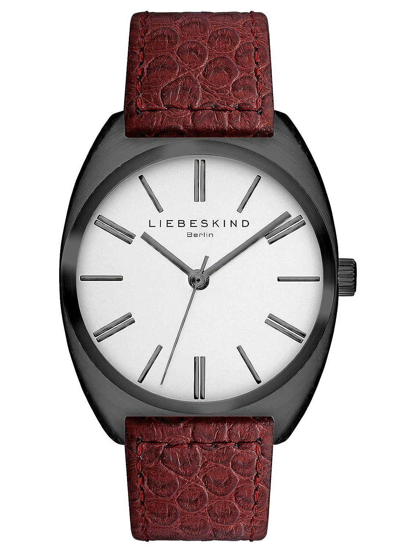 Liebeskind Berlin Unisex-Armbanduhr Brand New Snake Analog Quarz Leder LT-0036-LQ
