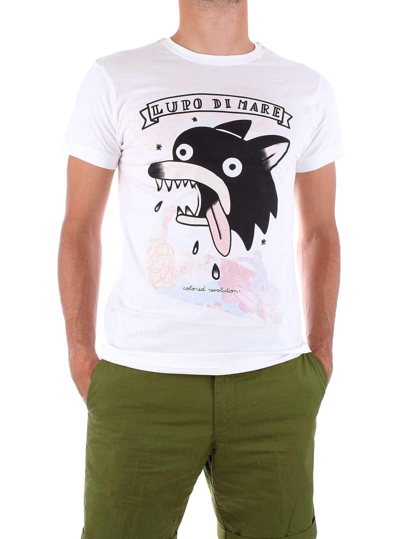 XL COLoruge REVOLUTION Luxury mode Homme M008blanc Blanc T-Shirt   Printemps été 19