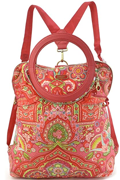 Oilily Folding City Backpack Biscuit QyGJzr